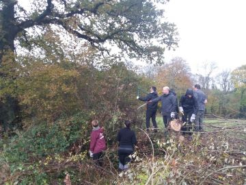 Hedgelaying Volunteer Day