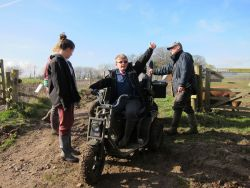 All terrain wheelchair to access the farm Gallery