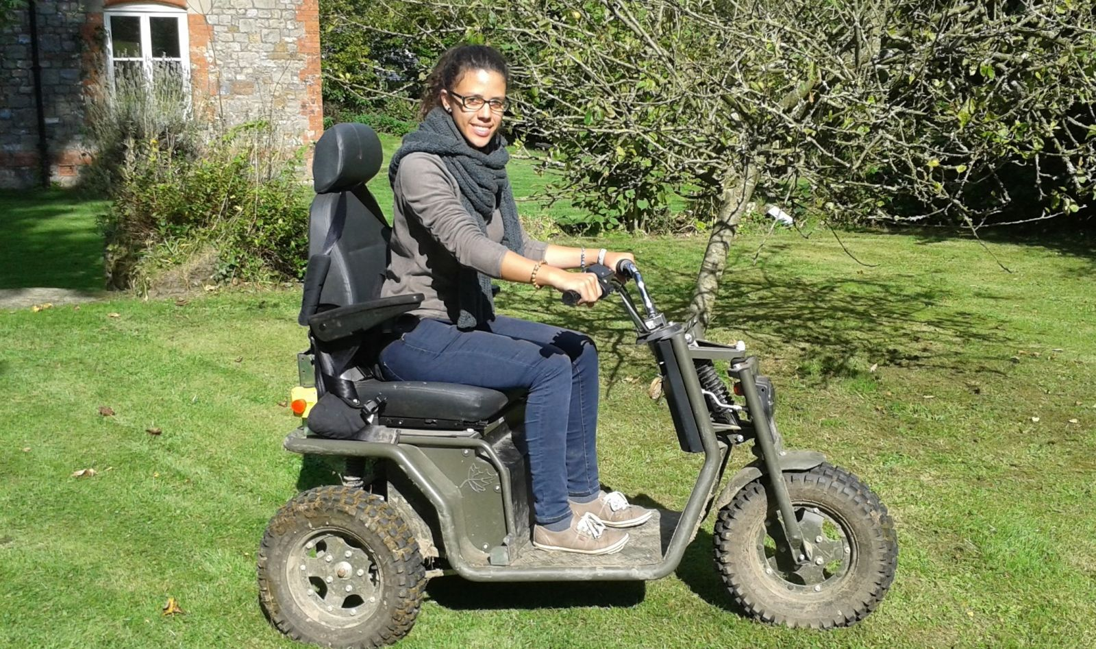 Tramper for accessibility at Magdalen Farm